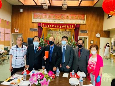 Wong Family Benevolent Association welcomed Director General Huang Min Jing of Taipei Economic and Cultural Office in Los Angeles for ancestor worship