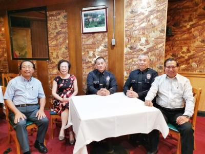 Countermeasures discussion with police on recent safety problem on the streets of Chinatown